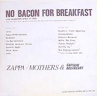 Cover No Bacon for Braekfast