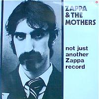 Cover Not Just Another Zappa Record